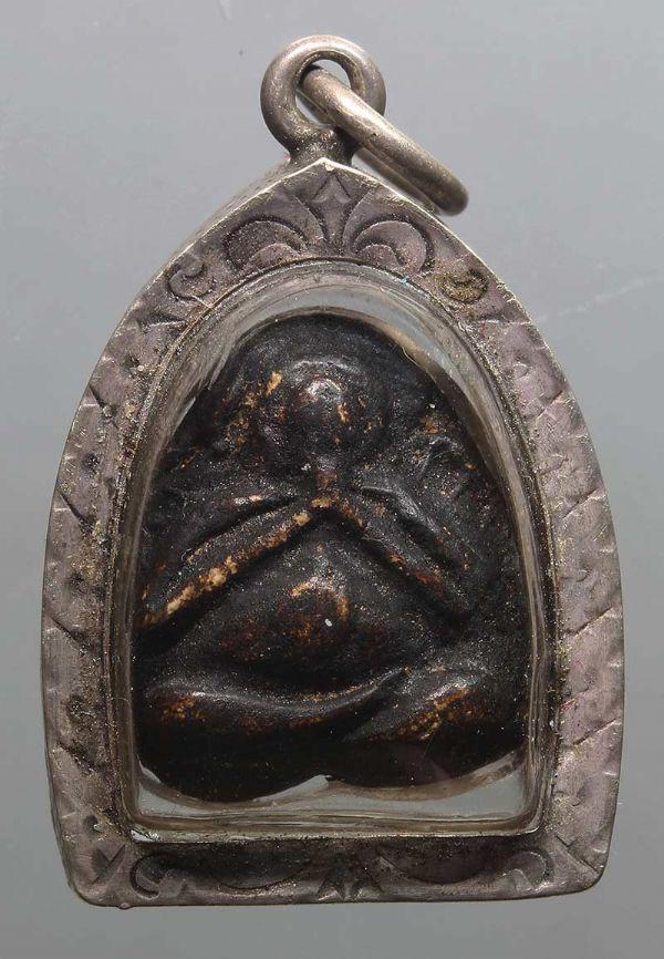 พระปิดตาหลวงปู่ศุข วัดปากคลองมะขามเฒ่า พิมพ์พุงป่อง  No.2671