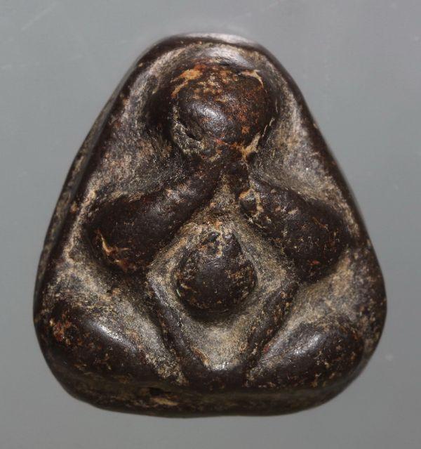 พระปิดตา หลวงปู่ครีพ วัดสมถะ(อุทยานนที) จ.ชลบุรี พิมพ์เศียรโต No.2694