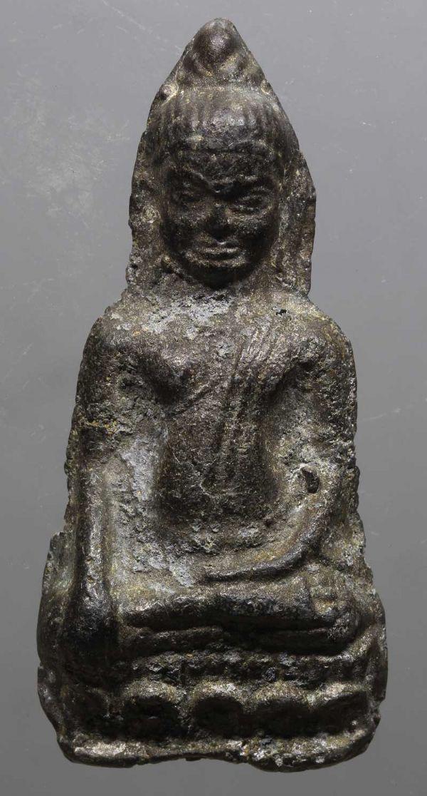 พระหูยานลพบุรี พิมพ์ใหญ่ No.2600