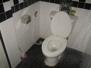 ห้องน้ำสะอาดดี