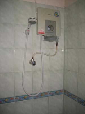 มีเครื่องทำน้ำอุ่นทุกห้อง