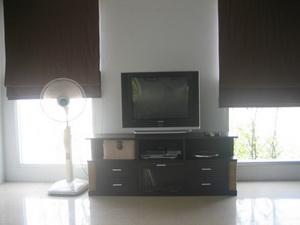TV จอแบน พัดลม และ โฮมคาราโอเกะ