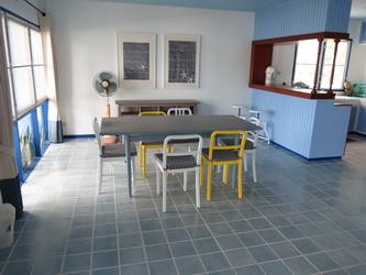 ห้องอาหาร มีโต๊ะทานอาหาร