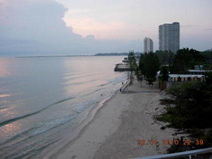 ชายหาดส่วนตัวที่เงียบสงบ