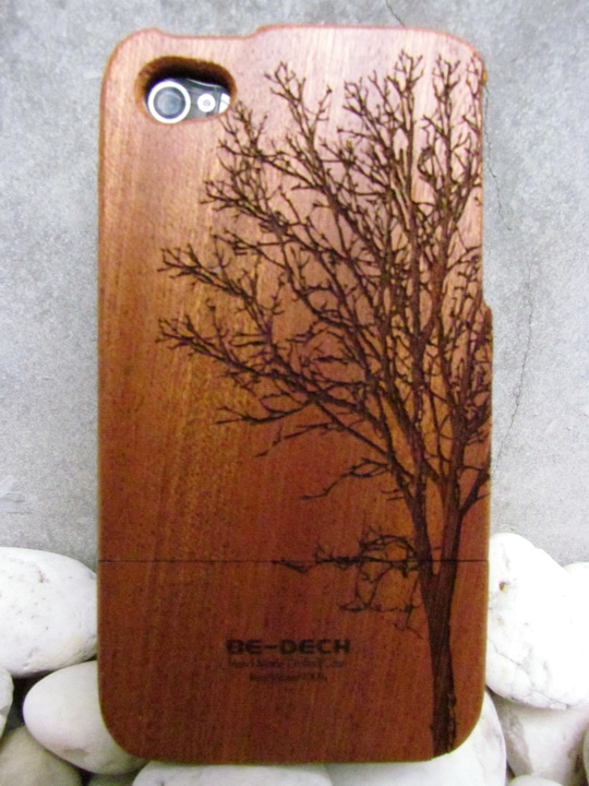 Sandbilly Graphic Wooden Iphone4 Case