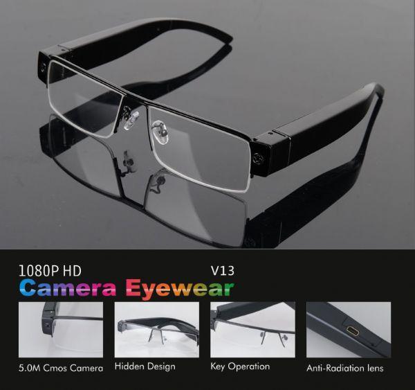 กล้องแว่นใสรุ่น HD