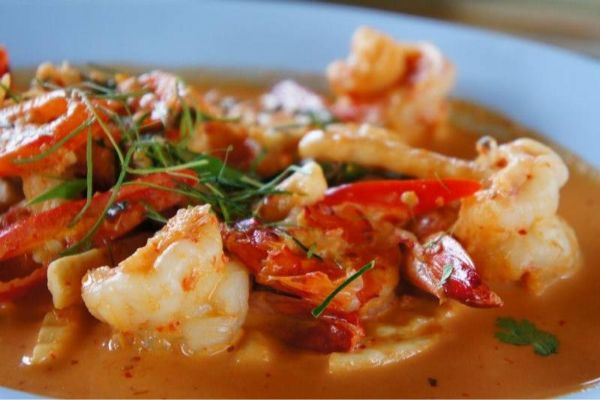 RED PRAWNS CURRY
