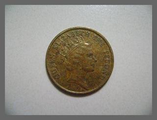 เหรียญ 10 Cents 1985 Hong kong