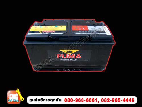 PUMA แบตเตอรี่ DIN 60038 SMF