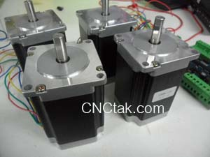 NEMA23 stepper motor Step Angle 1.8degree 3A/Phase 1.90 Nm.(270OZ-IN)