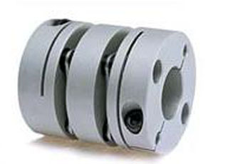 Double Flexible disk Coupling 14 x 14 mm.