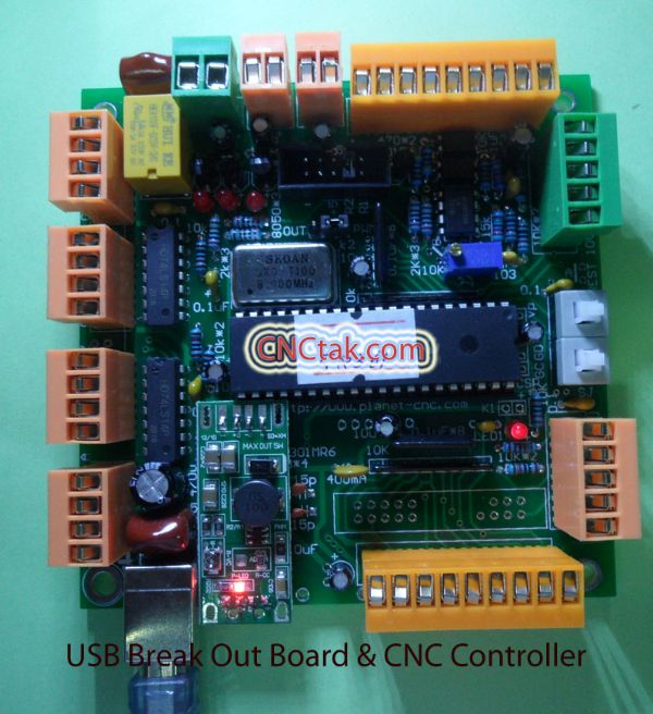 USB Break Out Board & CNC Controller