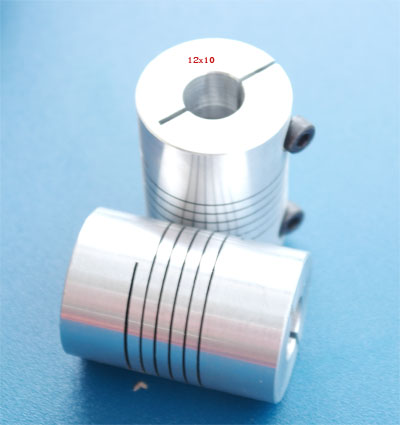 Flexible Coupling 10x12 mm.(size30x42 MM.)