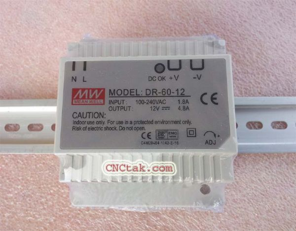 Din Rail Power Supply 12V. 60W