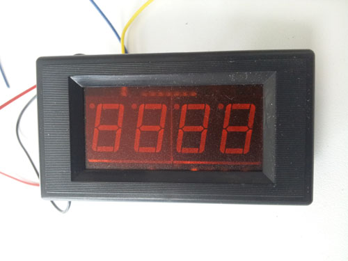 digital LED ampere meter 0-200 Ma