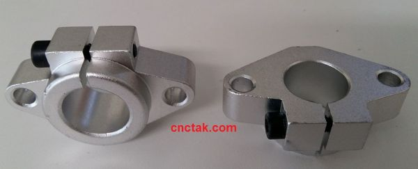 Linear rail shaft support SHF20mm.