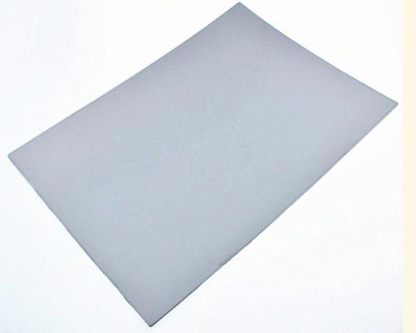 แผ่นยางเลเซอร์ A4 หนา 2.3 มม.สีเทา