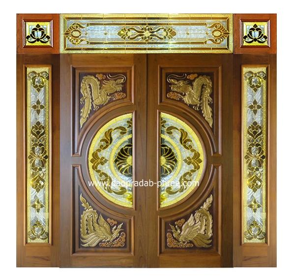 ประตูกระจกนิรภัย 7 ชิ้น