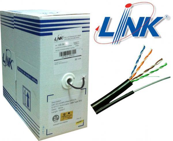 Cat5e UTP w/Drop Wire (Single Jacket)