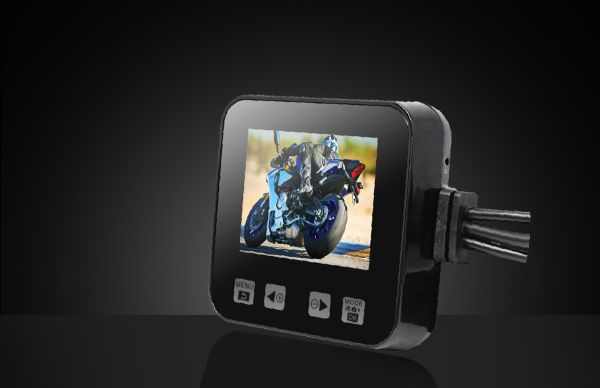 Bike Camera 400 with Monitor (Front – Rear)