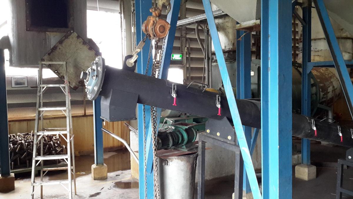 สกรูคอนเวเยอร์ Screw conveyor