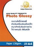 กระดาษโฟโต้ Glossy 130 gram