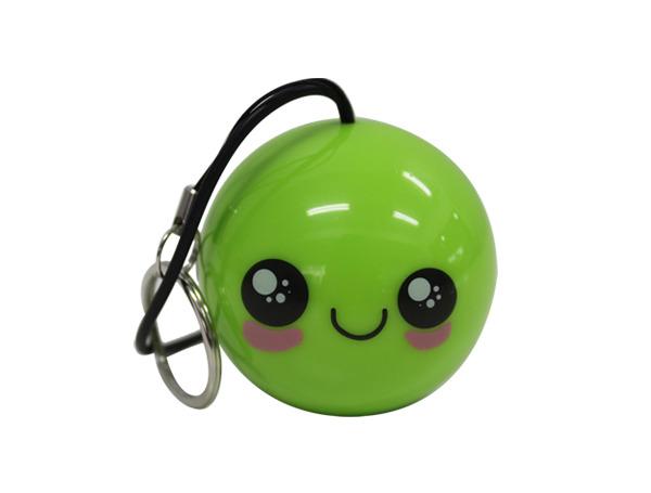 ลำโพงลูกบอลพกพาเขียว