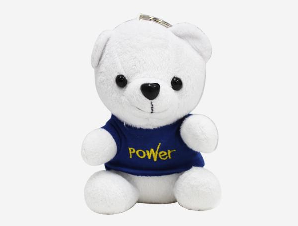 PowerBank หมีพูน้ำเงิน 2600