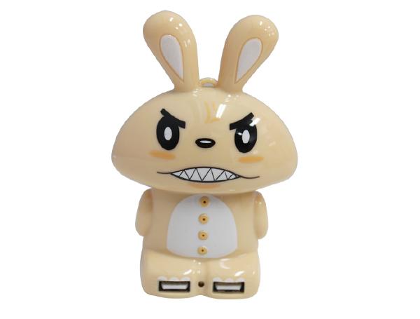 PowerBank กระต่ายน้ำตาล 5200