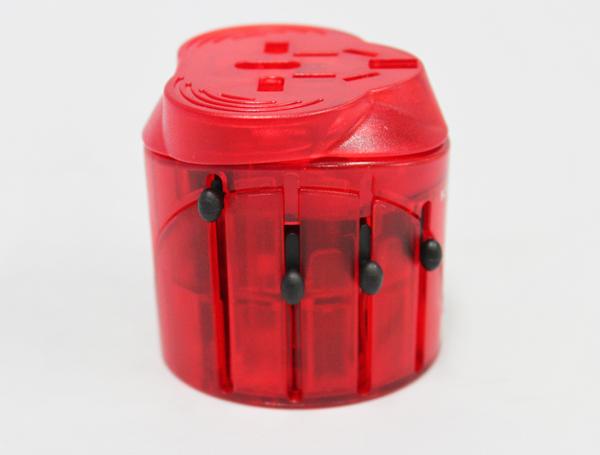 Multiple plug red