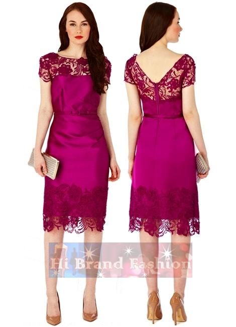 Satin dress size uk8