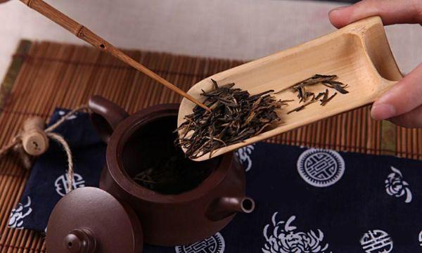 ที่ตักชาไม้ไผ่