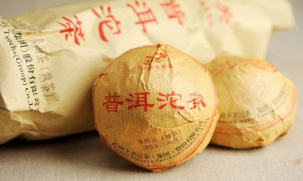 DT111 ชาผู่เอ๋อสุก Xiaguan Tuo cha 100g