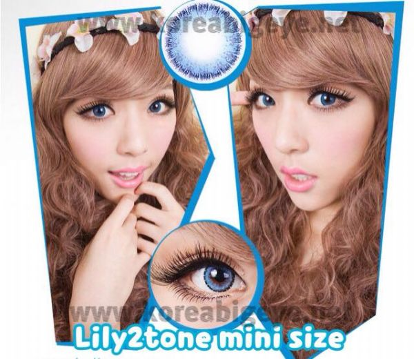Lily2tone Blue