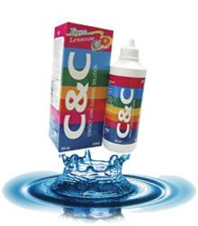 น้ำยาล้างคอนแทคเลนส์ C&C ขนาด 60ml