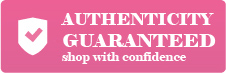 Authenticity guaranteed shop with confidence