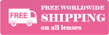 Contact lens free shipping worldwide just 19.00 USD get 1 contactlens+1case