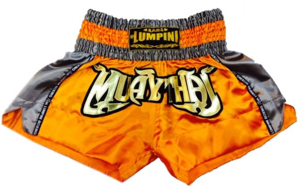 Muay Thai short orange,gray