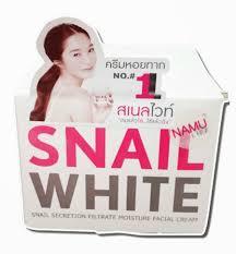 สเนลไวท์ snail white cream