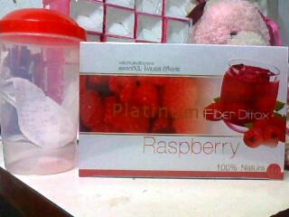 Platinum Fiber Ditox raspberry