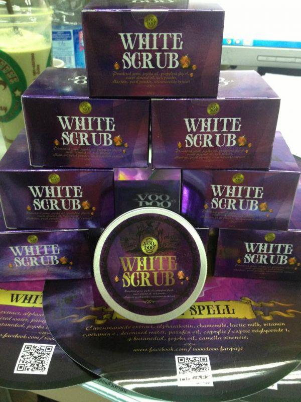 VOODOO White Scrub