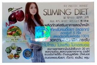 sliming Diet by Pretty white