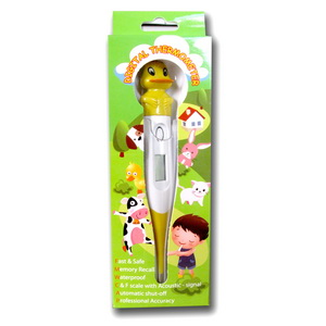 Digital thermometer Cartoon
