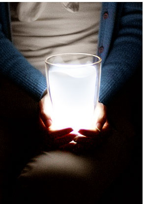 ของตกแต่งบ้าน โคมไฟ/ไฟฉาย magic milk cup