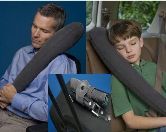 ของใช้เดินทาง : หมอนเป่าลม travelrest pillow สะดวกใช้