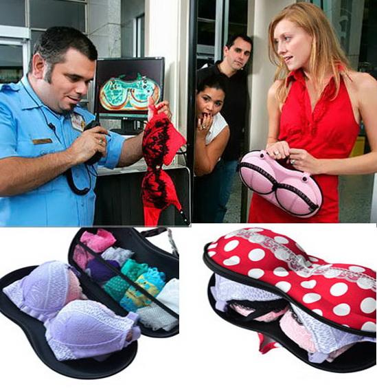 ของใช้เดินทาง : bra bag กระเป๋าแพคชุดชั้นใน