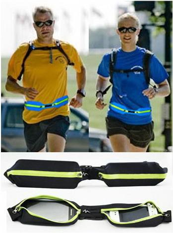 sport pocket กระเป๋าคาดเอวสำหรับเล่นกีฬา (แบบกระเป๋าคู่)