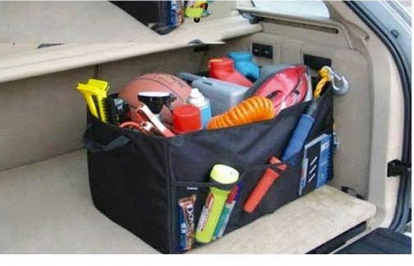 ของใช้ในรถ : กระเป๋าเก็บสิ่งของกระโปรงหลังรถ