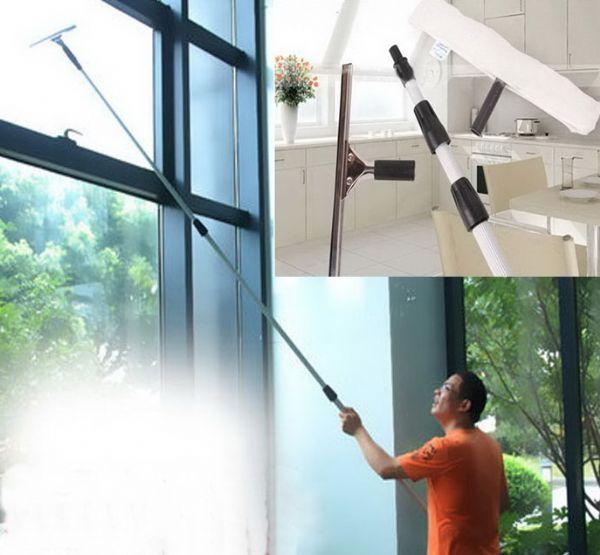 ไม้ทำความสะอาดกระจก/ผนังยาว 5 เมตร