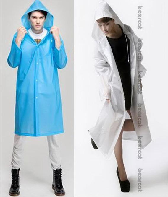 เสื้อกันฝนสไตล์ญี่ปุ่น unisex ใส่ได้ทั้งหญิง/ชาย